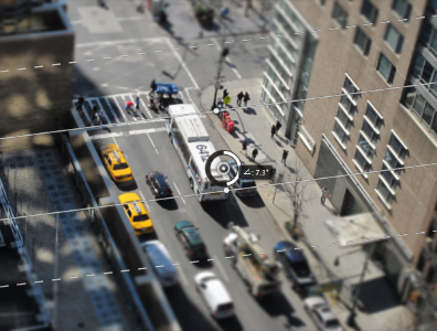 15 Tilt Shift Blur